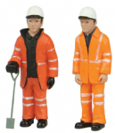 47-402 Scenecraft Lineside workers B (pack of 2 figures)